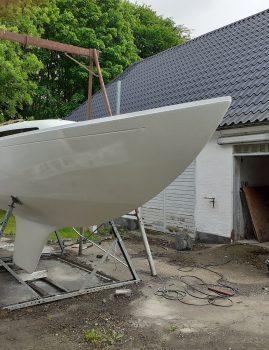 D-466 total renoveret fremstår som ny.