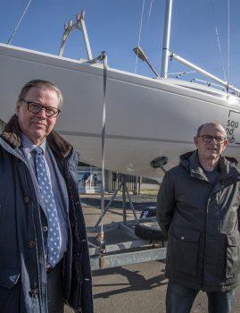 Kursen er sat mod VM for H-både i Struer til august