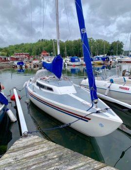 H-båd med elektriske indenbordsmotor